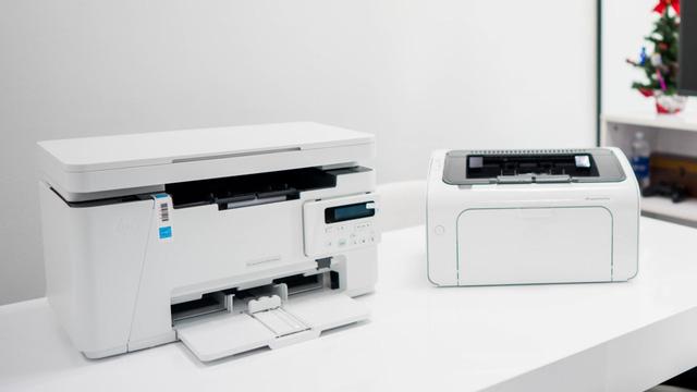 Bộ đôi máy in văn phòng giá vừa tầm siêu nhỏ gọn - Ảnh 1.