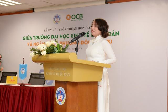 Ngân hàng TMCP Phương Đông ký kết thỏa thuận Hợp tác với Trường Đại Học Kinh Tế Quốc Dân - Ảnh 1.