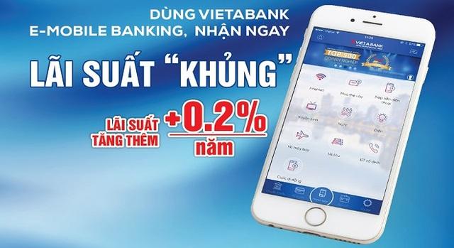 Trải nghiệm nền tảng ngân hàng số tại VietABank - Ảnh 1.
