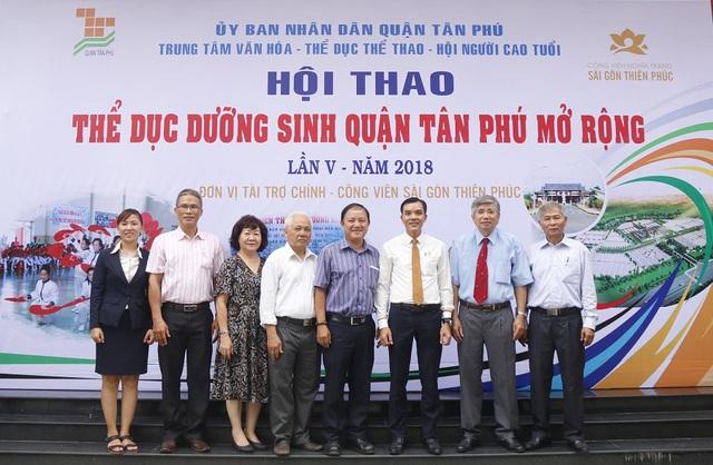 Sài Gòn Thiên Phúc chăm lo tinh thần cho người cao tuổi - Ảnh 9.