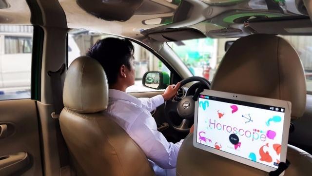 Mai Linh hợp tác với IDOOH ra mắt màn hình quảng cáo giải trí trong xe - Ảnh 1.