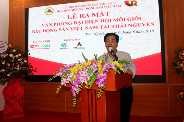 Tổng Giám đốc TTB Group làm Trưởng Văn phòng đại diện Hội Môi giới Bất động sản Việt Nam khu vực Đông Bắc - Ảnh 1.