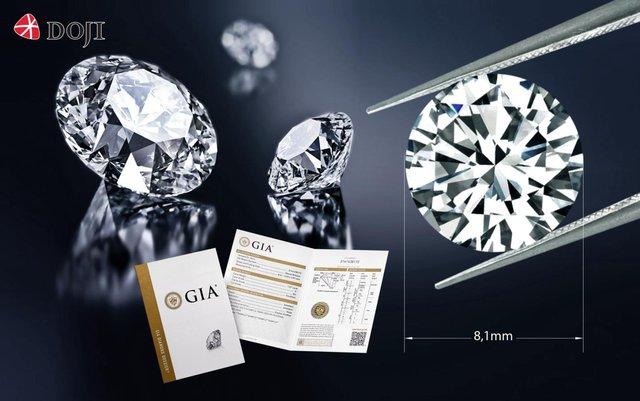 Sắm kim cương to không lo về giá - Ảnh 1.