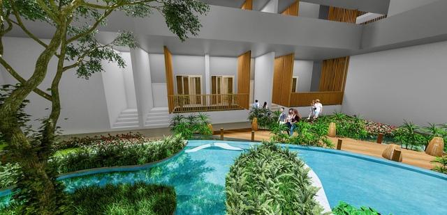 Xuất hiện căn hộ chăm sóc sức khỏe ấn tượng tại Biên Hòa - Ảnh 4.