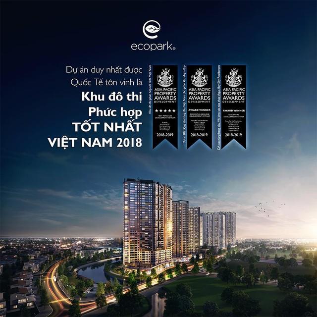 Ecopark nhận giải thưởng khu thành thị phức hợp tốt nhất Việt Nam - Ảnh 1.