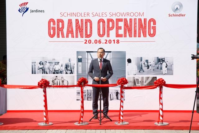 Schindler Việt Nam mở rộng thị trường: Khai trương Sale Showroom đầu tiên tại Việt Nam - Ảnh 1.