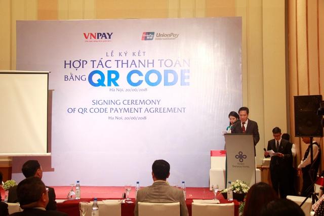 UnionPay bắt tay VNPAY phát triển thanh toán QR CODE tại Việt Nam - Ảnh 2.