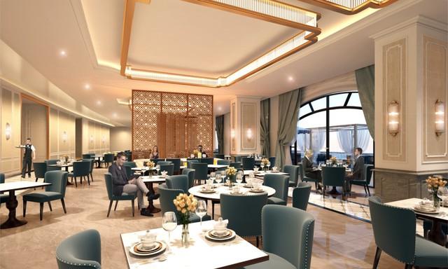 Nhà hàng Western phục vụ những món Âu thượng hạng.