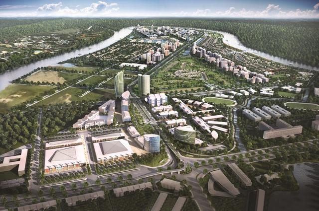 Nam Long động thổ đô thị Waterpoint 355ha - Ảnh 1.