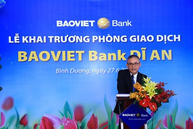 BAOVIET Bank khai trương phòng giao dịch mới tại Bình Dương - Ảnh 2.