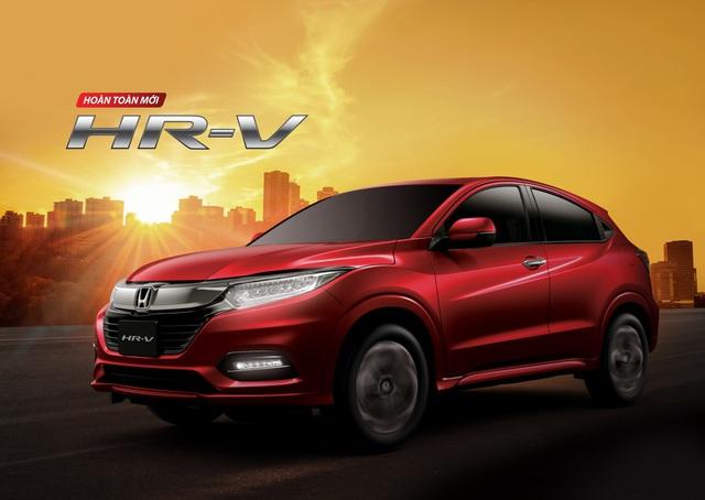 Honda HR-V hoàn toàn mới sắp được giới thiệu tại thị trường Việt Nam - Ảnh 1.