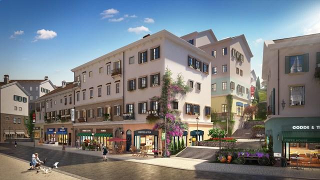 Shophouse phong cách Địa Trung Hải: Điểm nhấn ấn tượng trên thị trường BĐS Phú Quốc - Ảnh 1.