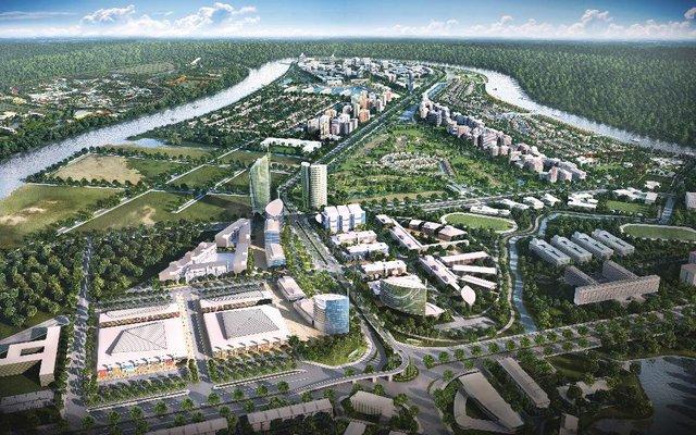 Nam Long (HOSE: NLG) ra mắt hợp tác phát triển 165 hecta GĐ 1 khu đô thị Waterpoint - Ảnh 1.
