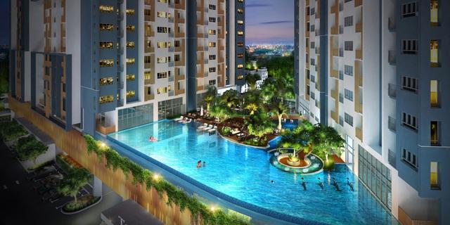 Mô hình căn hộ cao tầng làm đẹp và bảo vệ sức khỏe kiểu mới ở Dự án căn hộ cao tầng Biên Hòa - Ảnh 1.