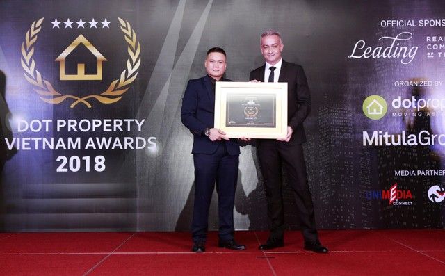 Tập đoàn Sunshine Group lập cú đúp tại Dot Property Vietnam Awards 2018 - Ảnh 1.