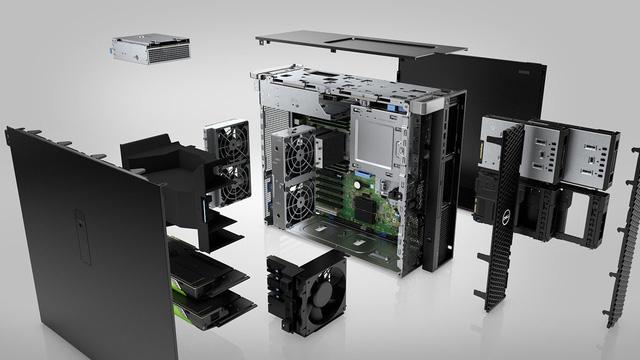 """Dell Precision 7820 – """"Cỗ máy siêu phẩm"""" cho doanh nghiệp - Ảnh 1."""