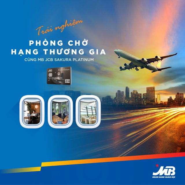 Đặc quyền cho chủ thẻ tín dụng MB Platinum - Ảnh 1.