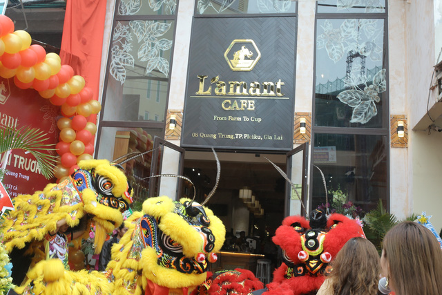 Khai trương Cửa hàng Cà phê Organic đầu tiên tại Việt Nam – L'amant Café - Ảnh 2.