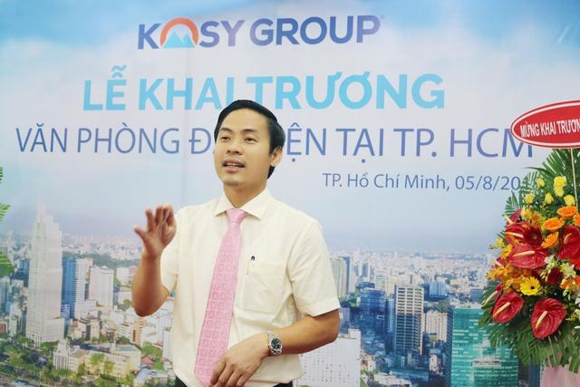 Tập đoàn Kosy khai trương văn phòng đại diện tại TP. Hồ Chí Minh - Ảnh 1.