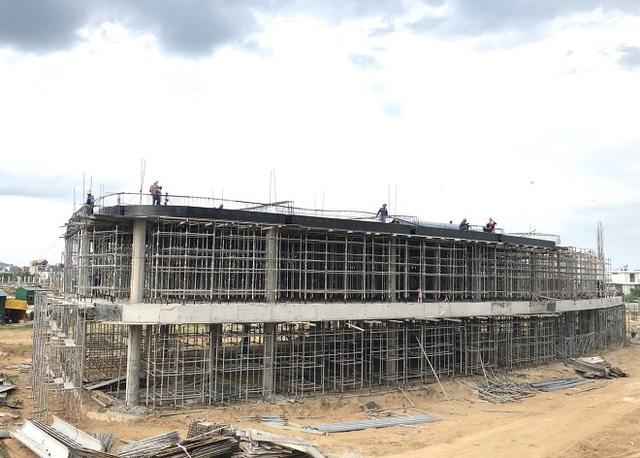 Chuẩn bị cất nóc dự án Thành phố giáo dục IEC Quảng Ngãi - Ảnh 2.