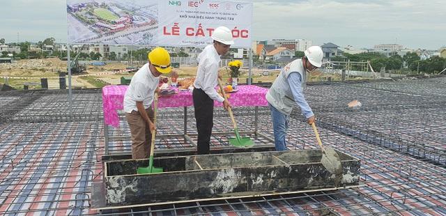 Chuẩn bị cất nóc dự án Thành phố giáo dục IEC Quảng Ngãi - Ảnh 4.