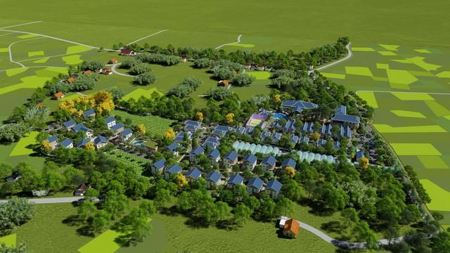 Cơ hội đầu tư bất động sản nghỉ dưỡng ven đô tại Green Oasis Villas - Ảnh 2.