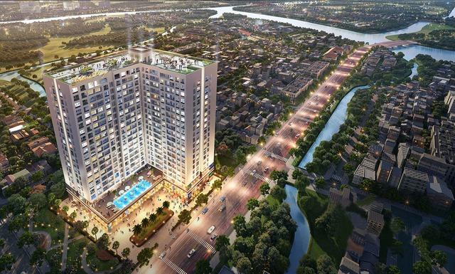 Bất động sản Nam Sài Gòn hấp dẫn nhờ lợi thế hạ tầng - Ảnh 1.