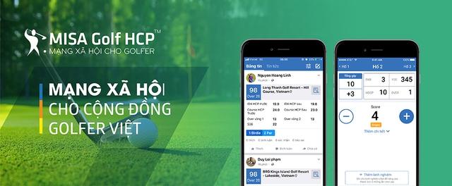 MISA Golf HCP – ứng dụng không thể bỏ qua của người chơi golf - Ảnh 1.