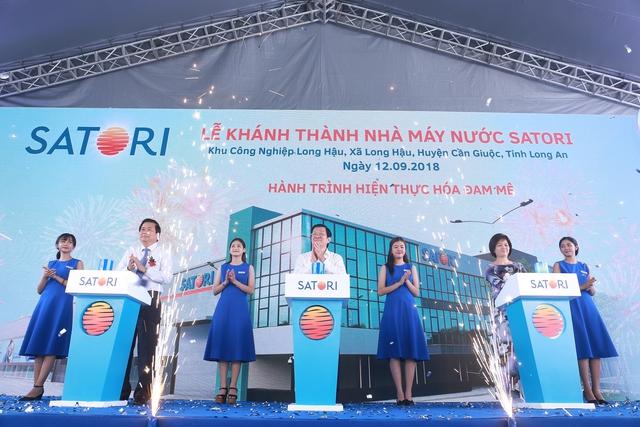 Áp dụng công nghệ hoàn lưu khoáng tại Việt Nam, Satori chính thức gia nhập thị trường nước giải khát - Ảnh 1.