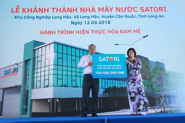 Áp dụng công nghệ hoàn lưu khoáng tại Việt Nam, Satori chính thức gia nhập thị trường nước giải khát - Ảnh 2.