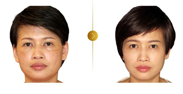 Nữ cố vấn sắc đẹp tự tin khoe mặt mộc tuổi 50 - Ảnh 2.