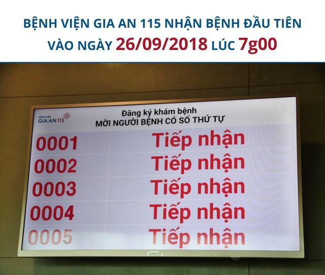 Bệnh viện Gia An 115 – Thành phố Hồ Chí Minh chính thức đi vào hoạt động - Ảnh 1.