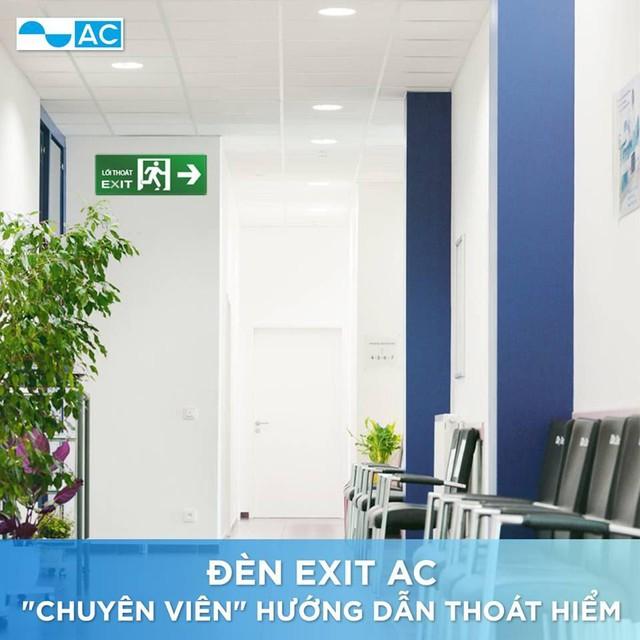 """Đèn Exit, Emergency – """"Chuyên viên thoát hiểm"""" cho mọi công trình - Ảnh 2."""