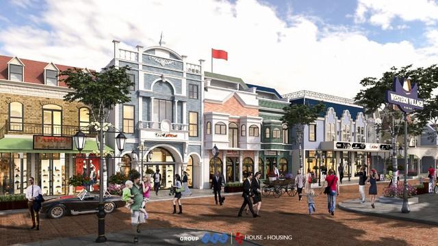 Ra mắt đồng loạt biệt thự, nhà phố Western Village thu hút thị trường TP.HCM - Ảnh 2.
