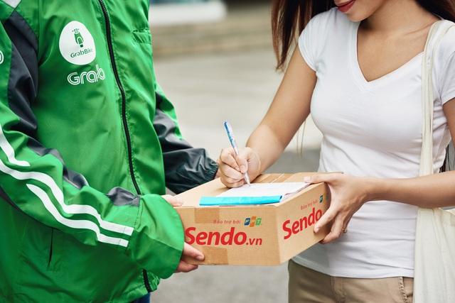 """Sen Đỏ và Grabexpress hợp tác ra mắt gói dịch vụ """"giao hàng siêu tốc 3h"""" - Ảnh 2."""