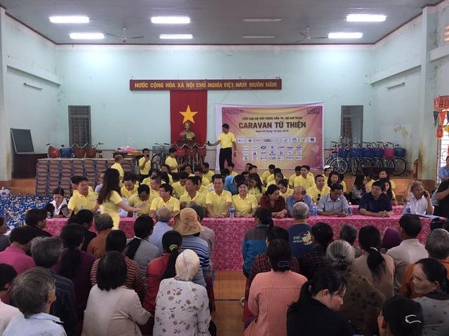 CLB Bất động sản Tp.HCM góp 300 triệu cho công tác xã hội tại Đồng Nai - Ảnh 1.