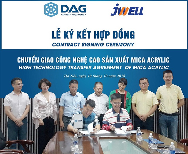 Việt Nam đã có dây chuyền sản xuất Mica acrylic thay thế công nghệ ép cũ  - Ảnh 1.