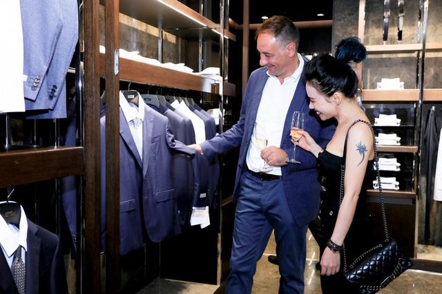 Lễ khai trương Canali tại Hà Nội với sự góp mặt của nhiều quý ông và doanh nhân thành đạt - Ảnh 7.