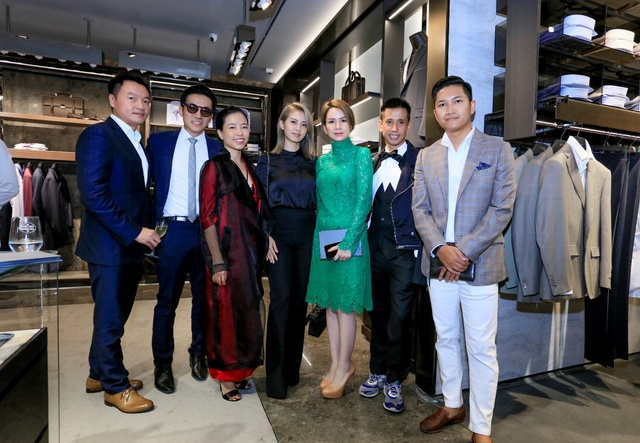 Lễ khai trương Canali tại Hà Nội với sự góp mặt của nhiều quý ông và doanh nhân thành đạt - Ảnh 8.