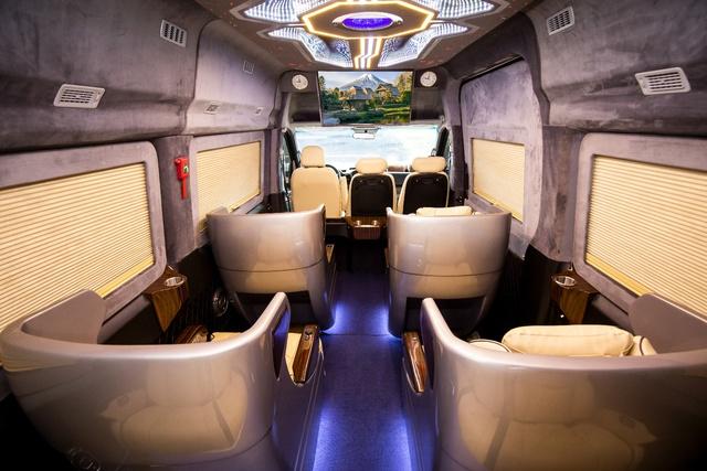 Chiêm ngưỡng nội thất Limousine sang trọng của dòng xe Skybus Solati X Series - Ảnh 4.