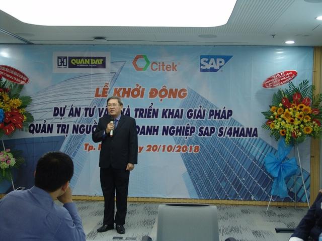 Quân Đạt và CITEK ký kết và khởi động dự án triển khai giải pháp quản trị tổng thể nguồn lực doanh nghiệp SAP S/4HANA - Ảnh 1.