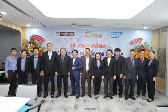 Quân Đạt và CITEK ký kết và khởi động dự án triển khai giải pháp quản trị tổng thể nguồn lực doanh nghiệp SAP S/4HANA - Ảnh 2.