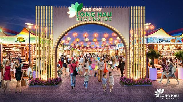 Long Hậu Riverside Market: Yếu tố quyết định tạo nên nhà đất đắt giá - Ảnh 1.