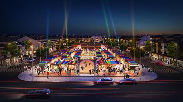 Long Hậu Riverside Market: Yếu tố quyết định tạo nên nhà đất đắt giá - Ảnh 2.
