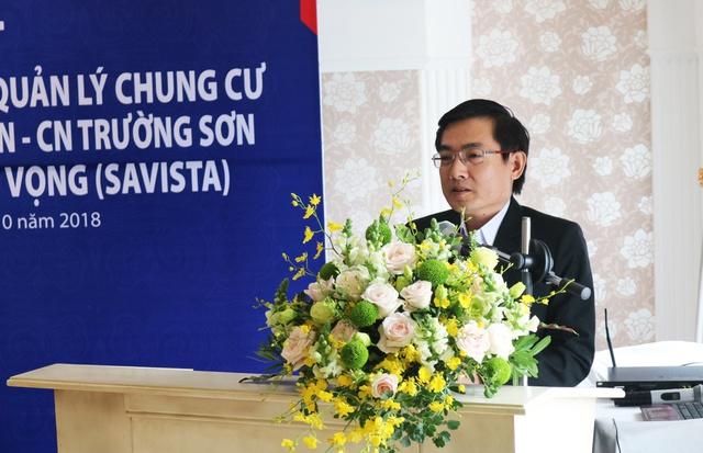 Lễ ký kết hợp đồng hợp tác thu hộ phí quản lý chung cư giữa SAVISTA và Ngân hàng BIDV CN Trường Sơn - Ảnh 1.
