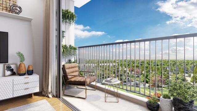 Bên trong căn hộ nội thất cao cấp ở Eco Green Saigon - Ảnh 3.