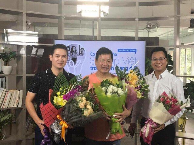 """Ông Phạm Văn Tam gặp khó khi ngồi """"ghế nóng"""" cuộc thi khởi nghiệp - Ảnh 1."""
