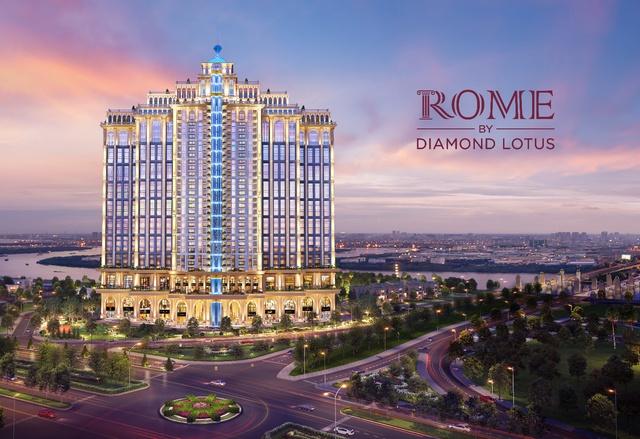 Rome by Diamond Lotus – Tinh hoa cổ điển trong kiến trúc sinh thái - Ảnh 2.