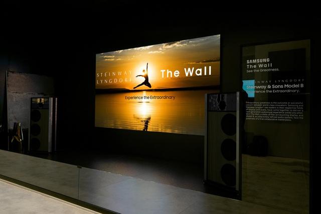 """Khi """"bức tường"""" của bạn biến thành chiếc TV khổng lồ - Ảnh 1."""