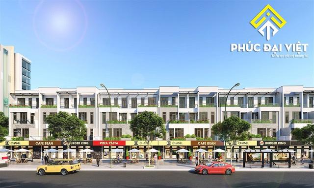 """Cơ hội sỡ hữu nhà phố thương mại ở vị trí """"độc tôn"""" ở Nguyễn Sinh Sắc – Hoàng Thị Loan - Ảnh 1."""